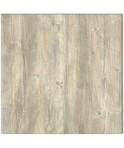 Tablero de mesa Werzalit-SM, PONDEROSA BLANCO 178, 60 x 60 cms*
