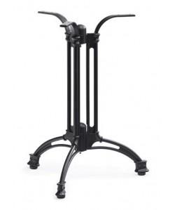 Base de mesa EIFFEL, fundición, 3 pies, negra, altura 70 cms