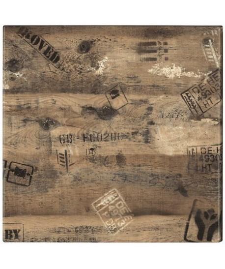 Tablero de mesa Werzalit, EX WORKS 122, 60 x 60 cms*