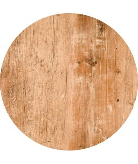 Tablero de mesa Werzalit, FINDUS 295, 60 cms de diámetro*.