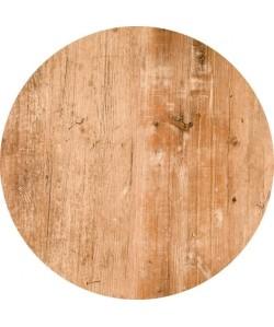 Tablero de mesa Werzalit Alemania, FINDUS 295, 70 cms de diámetro
