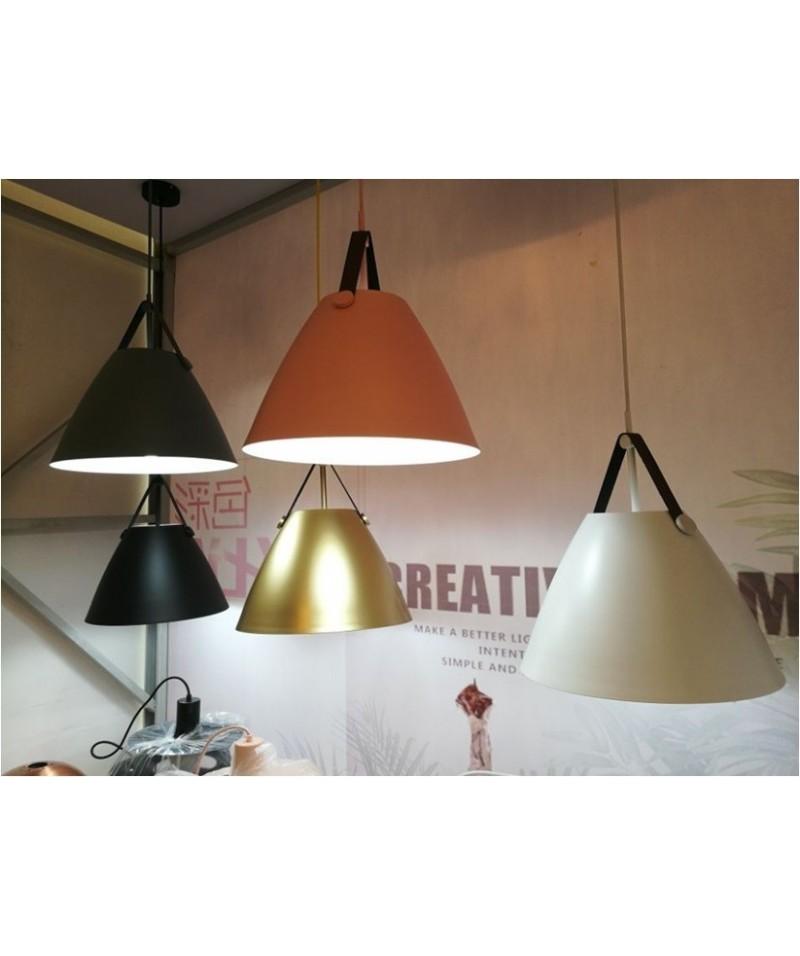 Lámpara KEILA, colgante, metal, color dorado Mobidecora