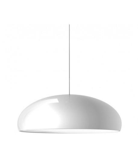Lámpara MARGOT, colgante, aluminio, color blanco