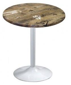 Mesa CRISS, blanca, tapa de 70 cms. Color a elegir