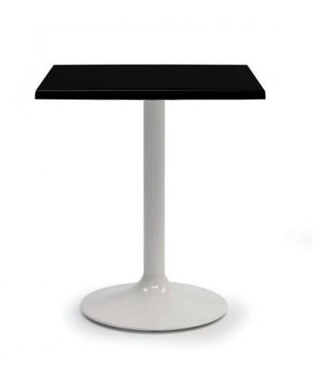 Mesa CRISS, blanca, tapa de 60 x 60 cms. Color a elegir