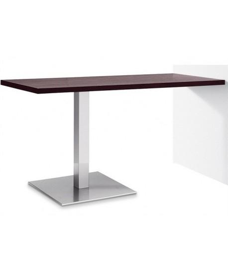 Mesa RHIN, acero inoxidable, tapa 110 x 70 cms. Color a elegir