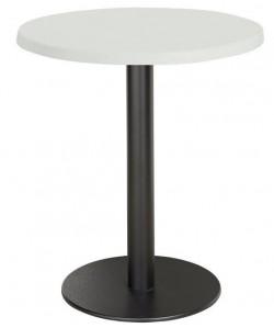 Mesa LOIRA, negra, tapa de 60 cms. Color a elegir