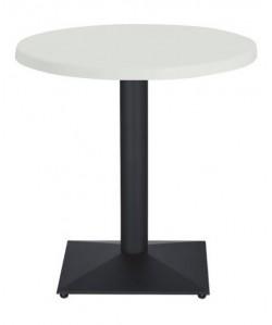Mesa DANUBIO, negra, tapa de 60 cms. Color a elegir