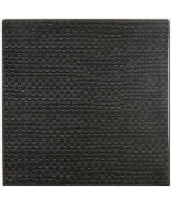Tablero de mesa Werzalit-126 ratán negro