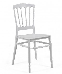 Silla WEDDING polipropileno blanco
