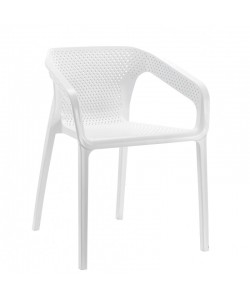 Sillón ALTEA, Apilable polipropileno blanco