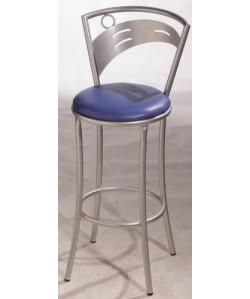 Taburete CIBEL, color a elegir, asiento tapizado.