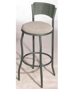 Taburete EVO, color a elegir, asiento tapizado.