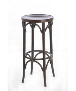 Taburete COSINO, madera de haya, asiento madera, barnizado.