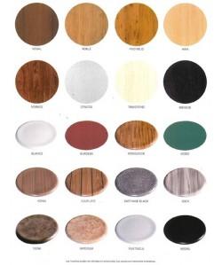 Asientos para sillas Werzalit 40 cms. - color a elegir