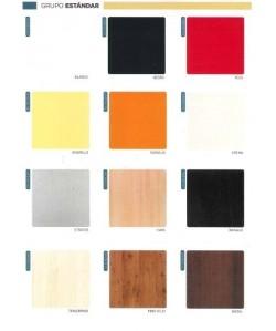 Tablero de mesa Werzalit serie Estándar de 90X90 cms.