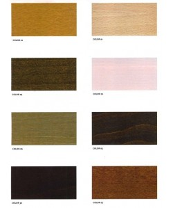 Tablero de mesa de madera, de 80 cms.de diámetro -Color a elegir -