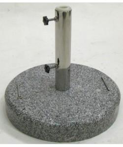 Base de parasol, 30 kg, de peso, granito