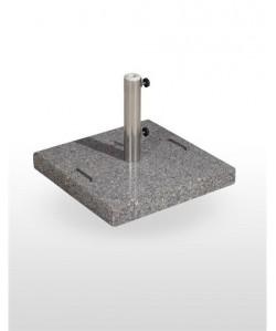 Base de parasol, 55 kg, de peso, granito.