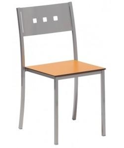 Silla 0652035 , asiento en compacto - color a elegir