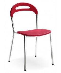 Silla 065445, armazón epoxi, asiento y respaldo poliuretano -color a elegir