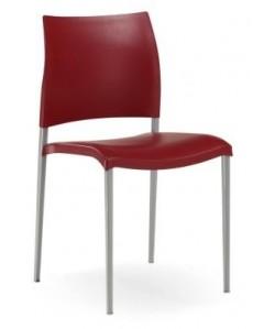 Silla 0651805, asiento y respaldo de polipropileno