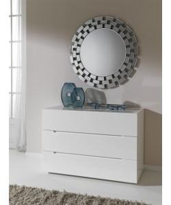 Espejo ALBANY de pared, cristal , 90x90 cms