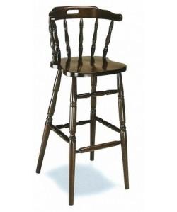 Taburete Rf. 315225, madera de haya, asiento madera, barnizado