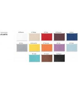 Colores de tapizado ignífugo ATLANTIS