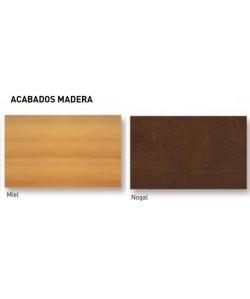 Colores madera: Nogal y miel