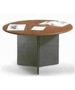 Mesa de juntas redonda 130 cms. diámetro. Color a elegir.