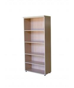 Armario alto de 4 estantes, 90x43x191 cms. Color a elegir.