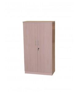 Armario alto de puertas y estantes, 90x43x191 cms. Color a elegir.