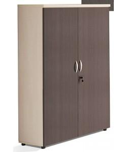 Armario medio de puertas enteras, 90x43x140 cms. Color a elegir.