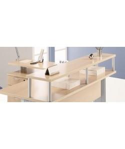 Suplemento mostrador para mesas de 120 cms. Color a elegir.