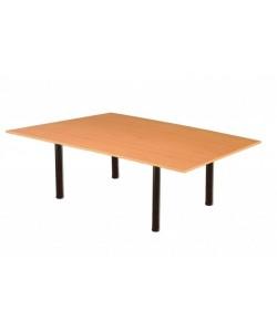 Mesa de juntas rectangular 240x120 cms. Color a elegir