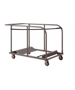 Carro para transportar mesas plegables de catering. REF.525C15