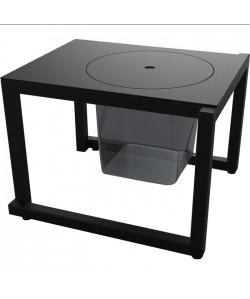 Mesa- cubitera, aluminio, 3 colores