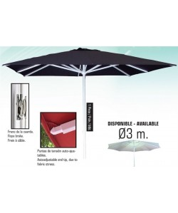 Parasol aluminio 3 x 3 metros - HEAVY