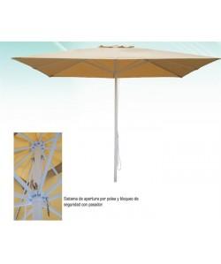 Parasol aluminio 2 x 3  metros - BASIC
