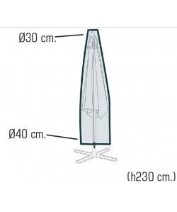 Funda para parasol, tejido impermeabilizado