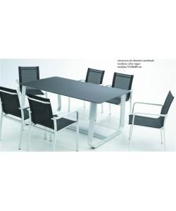 Conjunto SANTORINI, mesa + 6 sillas*