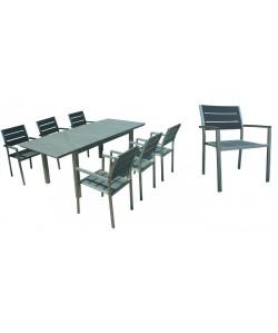 Set OHIO, mesa + 6 sillones.