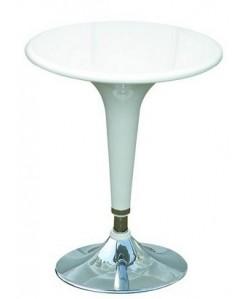 Mesa regulable 8007, abs, color blanca. Pequeñas imperfecciones
