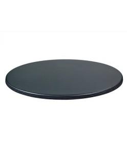 Tablero de mesa Topalit - Serie Mono - Seagrass Dark, 70 cms. de diámetro*