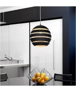 Lámpara CEP-TNE, colgante, aluminio, color negro*