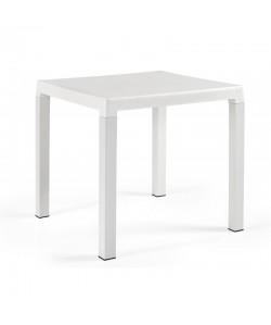 Mesa DITA, polipropileno blanco, 80 x 80 cms