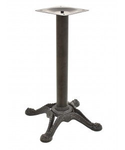 Base de mesa RÓDANO, negra, 58*75 cms