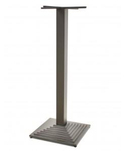 Base de mesa ELBA, alta, negra, 44*44*110 cms
