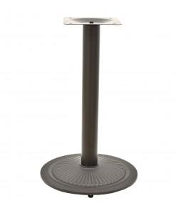 Base de mesa SAONA, alta, negra, 44*110 cms